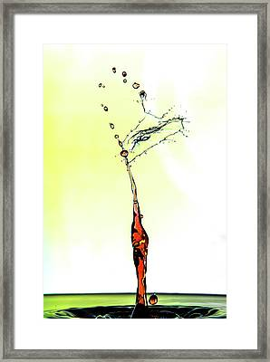 Water Drop #6 Framed Print
