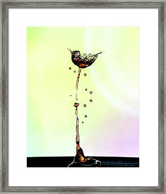 Water Drop #9 Framed Print