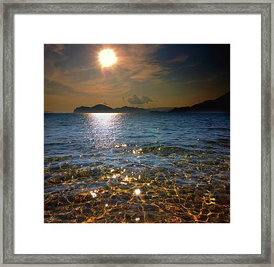 Water, Earth, Fire And Air .... Framed Print by Yuri Hope