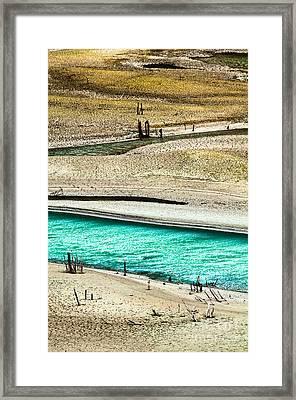 Water Edge 5 Framed Print by Emilio Lovisa