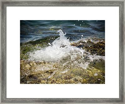 Water Elemental Framed Print