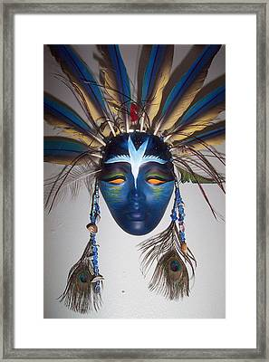 Water Face Framed Print by Angelina Benson