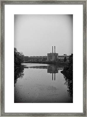 Framed Print featuring the photograph Water Factory by Lora Lee Chapman