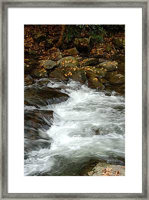 Water-fall Framed Print