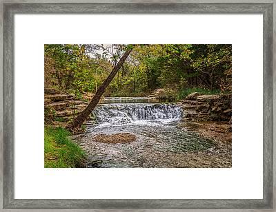 Water Fall Framed Print by Doug Long