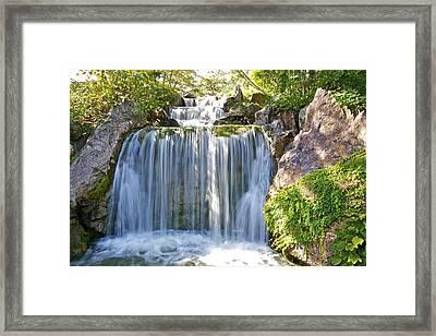 Water Fall  Framed Print by Robert Joseph