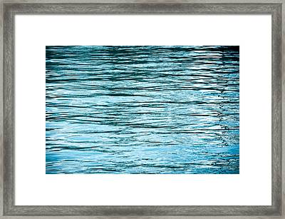 Water Flow Framed Print