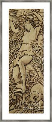 Water Framed Print by Frederick G Smith