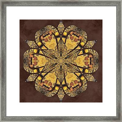 Framed Print featuring the mixed media Water Glimmer 1 by Derek Gedney