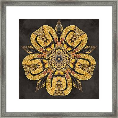 Framed Print featuring the mixed media Water Glimmer 2 by Derek Gedney