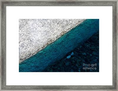 Water II Framed Print by Marta Grabska-Press
