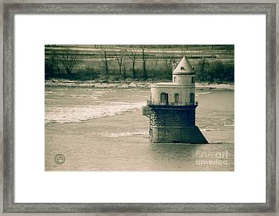 Water Intake 2 Framed Print by Helena M Langley