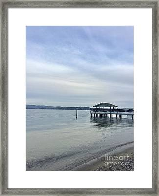 Water Is Life Framed Print