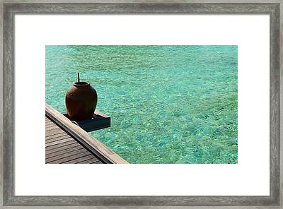 Water Jar Framed Print