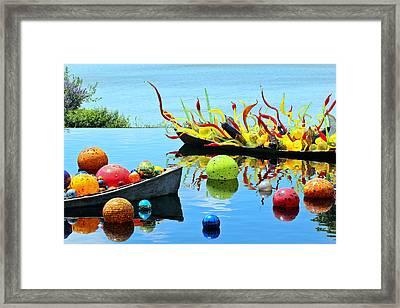 Water Joy Framed Print