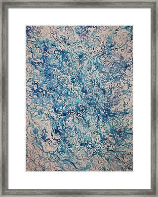 Water Framed Print by Karen Kliethermes