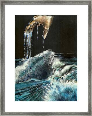 Water Framed Print by Kathleen Romana