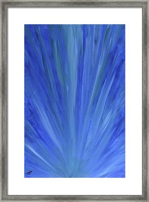 Water Light Framed Print