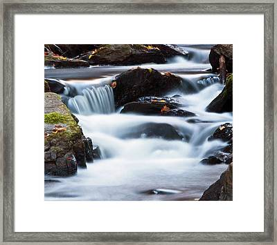 Water Like Mist Framed Print