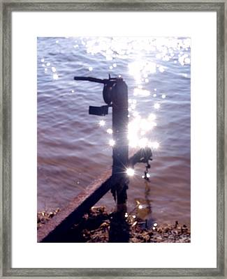 Water Magic Framed Print by Kevin Callahan