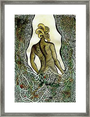 Water Man Framed Print
