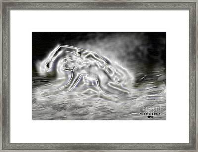 Water Mirage Framed Print