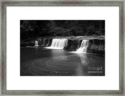 Water Movement Framed Print