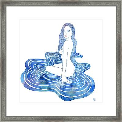 Water Nymph Cii Framed Print