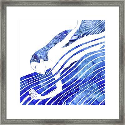 Water Nymph Lxv Framed Print