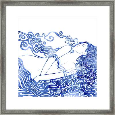 Water Nymph Lxvii Framed Print