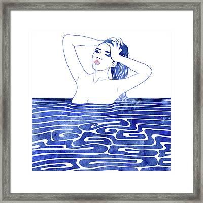 Water Nymph Lxx Framed Print