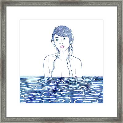 Water Nymph Lxxi Framed Print