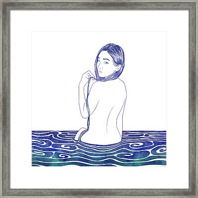 Water Nymph Lxxii Framed Print