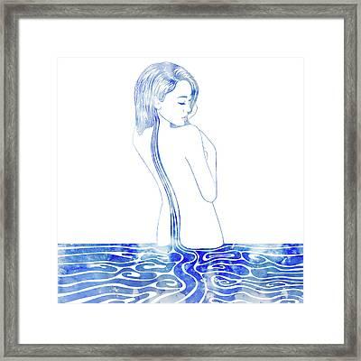Water Nymph Lxxv Framed Print