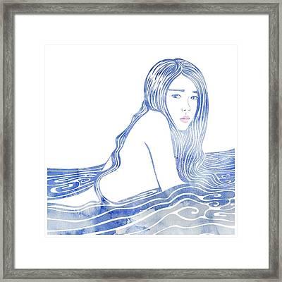 Water Nymph Lxxvi Framed Print