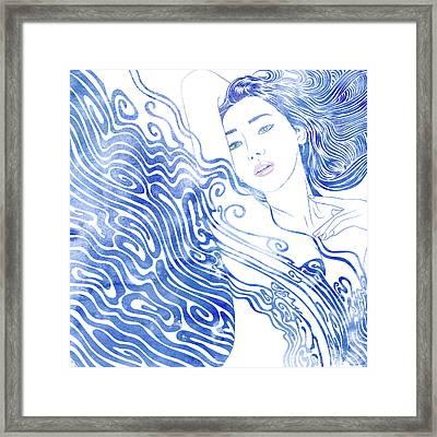 Water Nymph Lxxviii Framed Print