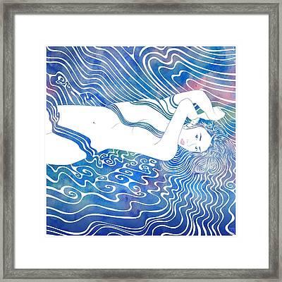 Water Nymph Lxxxiii Framed Print