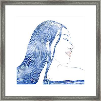 Water Nymph X Framed Print