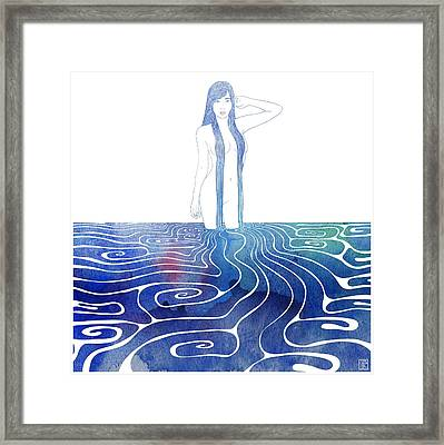 Water Nymph Xci Framed Print