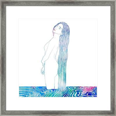 Water Nymph Xciv Framed Print