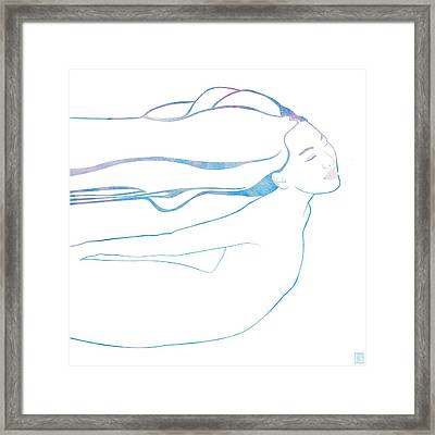 Water Nymph Xcix Framed Print