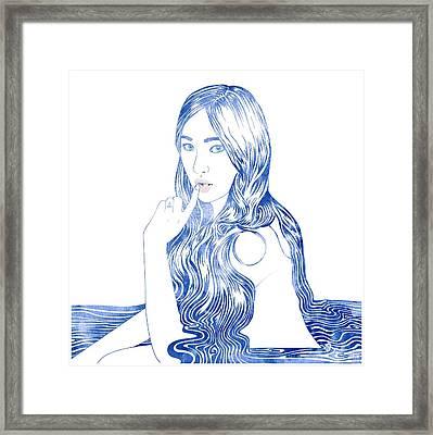 Water Nymph Xcvi Framed Print
