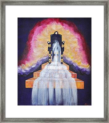 Water Of Life Framed Print by Denise Warsalla