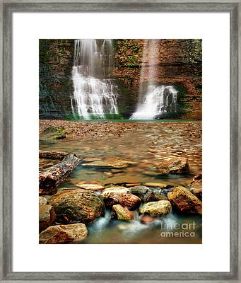 Water Path Framed Print by Tamyra Ayles