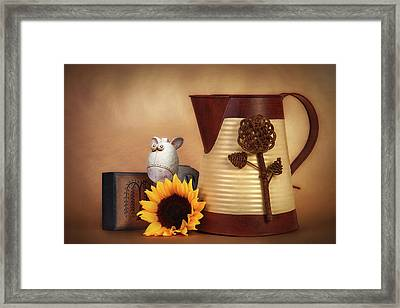 Water Pitcher Still Life Framed Print