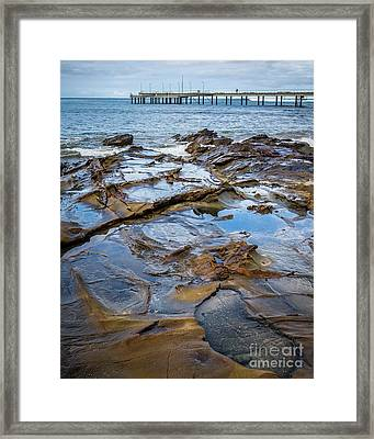 Framed Print featuring the photograph Water Pool by Perry Webster