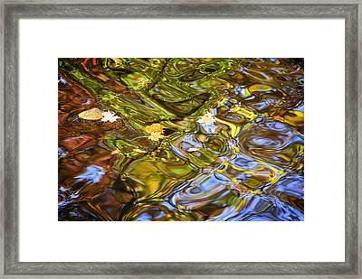 Water Prism Framed Print by Frozen in Time Fine Art Photography