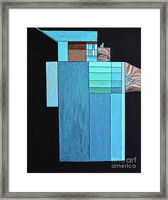 Water Recycling Plant Framed Print by Christine Dekkers