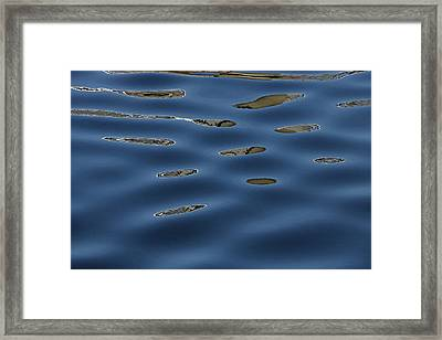 Water Reflections 10 Framed Print by Allen Beatty