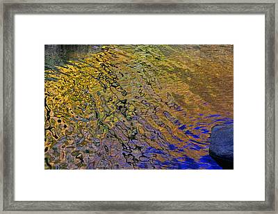 Water Reflections 9 Framed Print by Allen Beatty